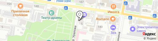 Дальипотека-сервис на карте Благовещенска