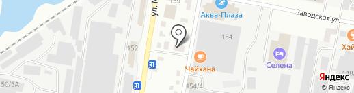 Интерсервис на карте Благовещенска