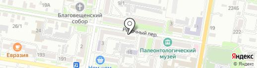 Амурфармация на карте Благовещенска