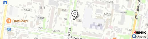 АМК на карте Благовещенска