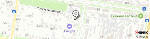 Геодезическая компания на карте Благовещенска