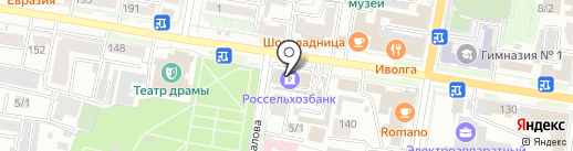 Россельхозбанк на карте Благовещенска