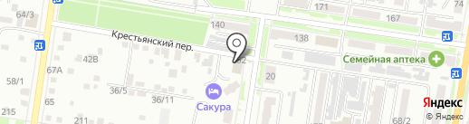 ТДС на карте Благовещенска