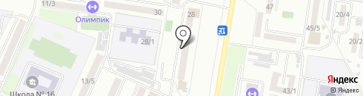 Почтовое отделение №27 на карте Благовещенска