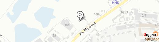 АЗС Электрон на карте Благовещенска