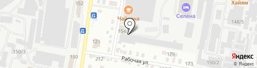 Ферро на карте Благовещенска