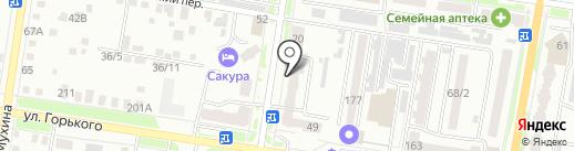 Магазин детской одежды на карте Благовещенска