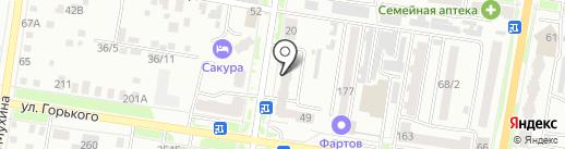 Сириус-М на карте Благовещенска