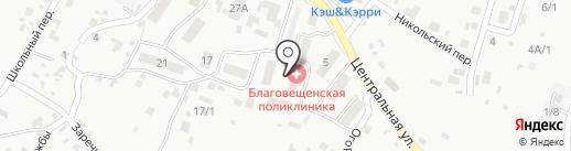 Почтовое отделение №675520 на карте Чигирей