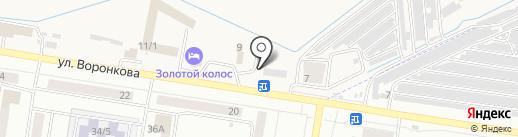 Бункер на карте Благовещенска