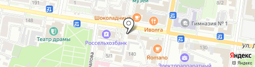 Петропавловск, ЗАО на карте Благовещенска