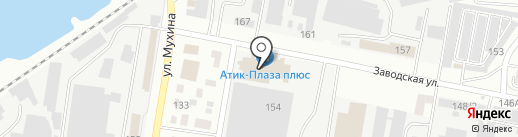 Плаза на карте Благовещенска