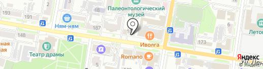Адвокатский кабинет Качева В.С. на карте Благовещенска