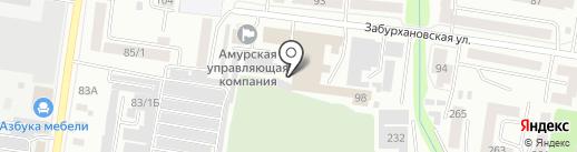 DPD на карте Благовещенска