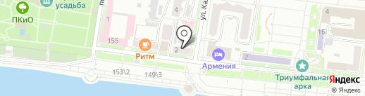 Административный участок №22 на карте Благовещенска