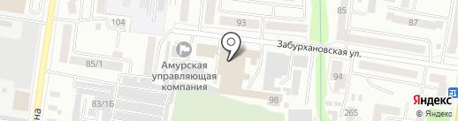 У Денисенко на карте Благовещенска