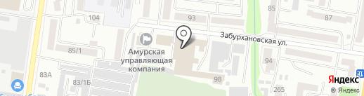 IRON HALL на карте Благовещенска