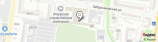 Неформат на карте Благовещенска