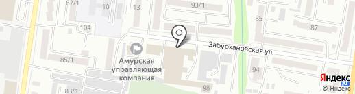Окна Оникс на карте Благовещенска