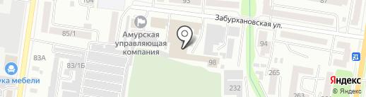 Премьер Мебель на карте Благовещенска