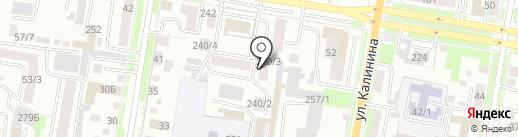 Бухгалтерская компания на карте Благовещенска