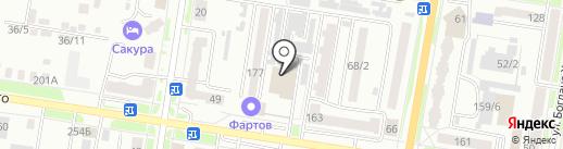 Мастерская Олеси Мустаевой на карте Благовещенска