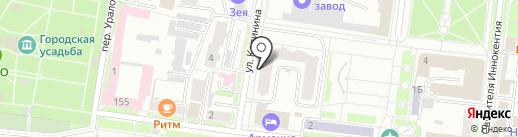 Sumka танцора на карте Благовещенска