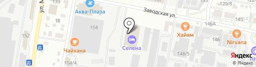 Амурская компания АСВ на карте Благовещенска
