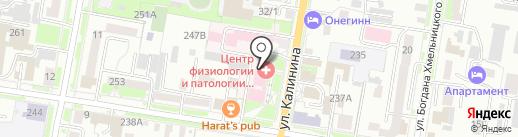 Дальневосточный научный центр физиологии и патологии дыхания на карте Благовещенска