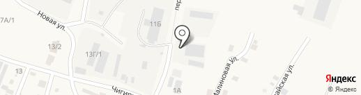 Первая на карте Чигирей