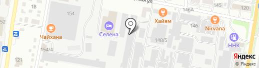 Белшина на карте Благовещенска