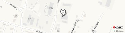 Покров на карте Чигирей