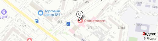 Городская стоматологическая поликлиника на карте Благовещенска