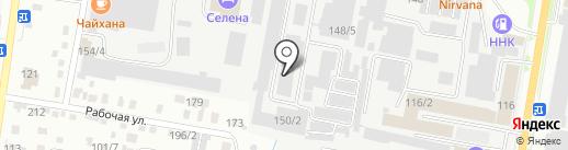 Торгово-производственная компания на карте Благовещенска