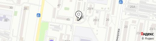 Машина на карте Благовещенска