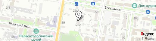 Спайс на карте Благовещенска
