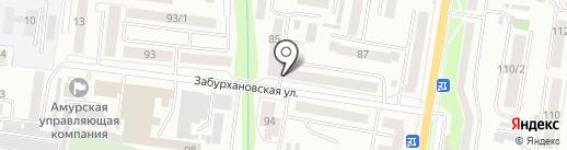 Нотариус Берлов П.А. на карте Благовещенска