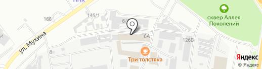 ВостокГерметик на карте Благовещенска