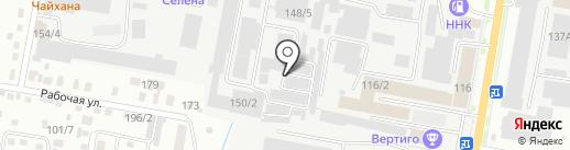Амурский сварочный цех на карте Благовещенска