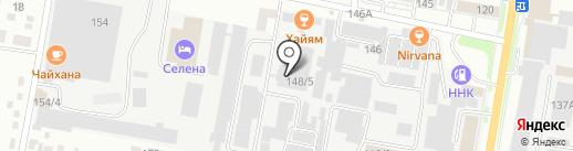 АТК Юникс на карте Благовещенска