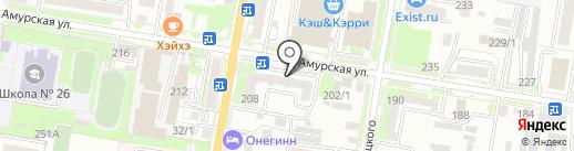 Магазин автозапчастей для Toyota, Nissan и корейских автомобилей на карте Благовещенска
