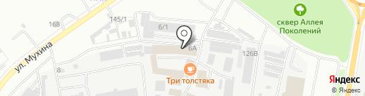 Монро на карте Благовещенска