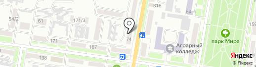 КБ Восточный экспресс банк на карте Благовещенска