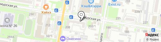 Восточный банк, ПАО на карте Благовещенска