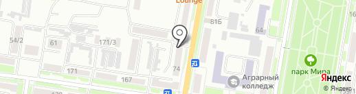 Магазин мяса с личного подворья на карте Благовещенска