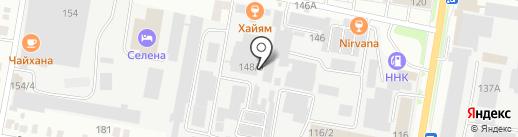Бумажный цех на карте Благовещенска