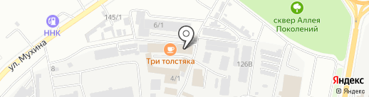 Ольга на карте Благовещенска