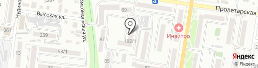 КариЦа на карте Благовещенска