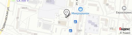 VENERA на карте Благовещенска