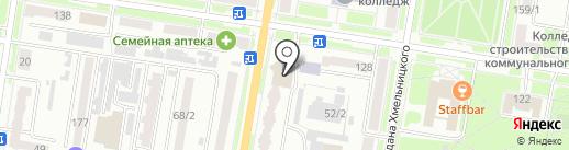 Отдел судебных приставов №3 по городу Благовещенску и Благовещенскому району на карте Благовещенска